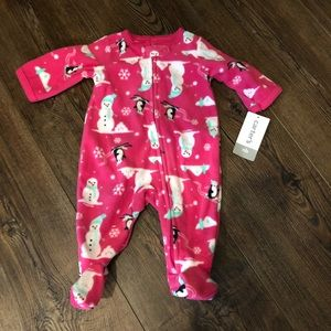 New Carters footed one piece